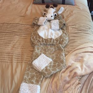 Old Navy tToddler Giraffe Costume 2 pieces